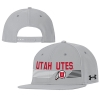Image for Under Armour Utah Utes Athletic Logo Snapback