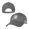 Image for Utah Utes Athletic Logo Womens Under Armour Adjustable Hat