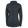 Image for Utah Utes Womens Full-Zip Subtly Streaked Hoodie