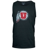 Image for Utah Utes Distressed Athletic Logo Tank Top