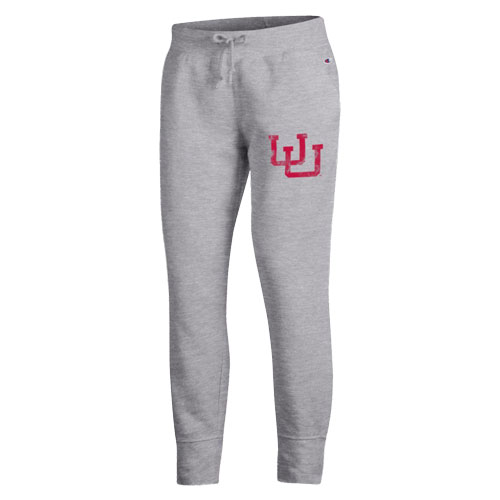 Cover Image For Utah Utes Interlocking U Champion Jogger Pant