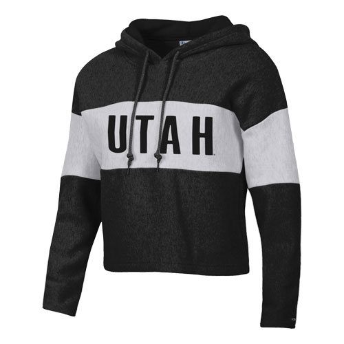 Cover Image For Utah Utes Champion Crop Hoodie