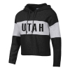 Cover Image for Utah Utes Cropped Athletic Logo Pullover