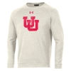 Image for Under Armour Utah Utes Interlocking U Crew Neck