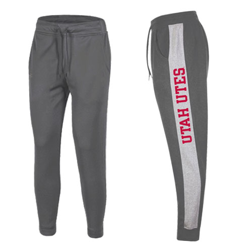 Cover Image For Utah Utes Under Armour Jogger