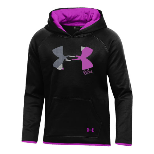 Image For Utah Utes Under Armour Fuchsia Youth Hoodie
