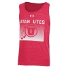 Image for Utah Utes Under Armour Triblend Tank Top