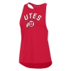 Image for Under Armour Utes Athletic Logo Racerback Tank