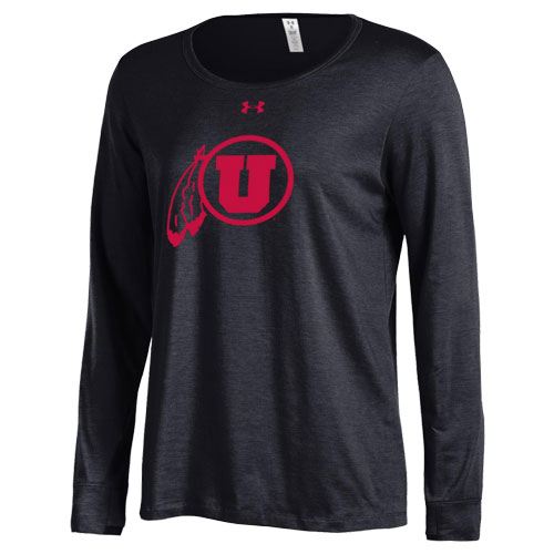 Image For Utah Utes Athletic Logo Womens Long Sleeve