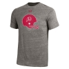 Image for Under Armour Throwback Athletic Logo Helmet Tee