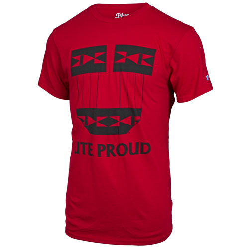 Image For Utah Utes Ute Proud Tribal Block U T-Shirt