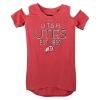 Image for Utah Utes Athletic Logo Girls Cold Shoulder Tee