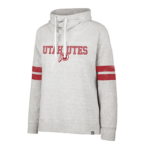 7c3d4037 Image For Utah Utes Athletic Logo Women's Funnel Neck Sweatshirt