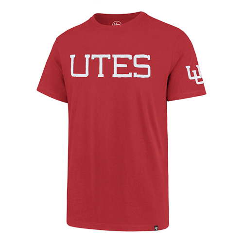 Image For Utah Utes Interlocking U Applique T-Shirt