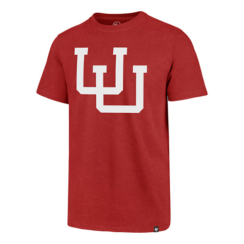 Image For Utah Utes Throwback Interlocking U Tee