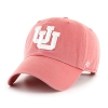 Image for Utah Utes Interlocking U Faded Red Women's Adjustable Hat