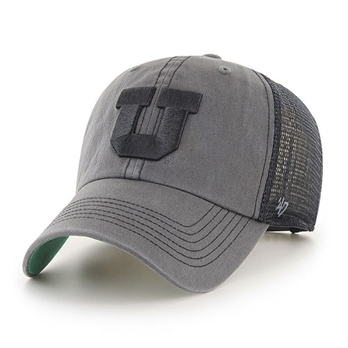 Image For Utah Utes Block U Mesh Back Adjustable Hat
