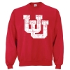Image for Utah Utes Interlocking U Crew Neck Sweatshirt