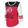 Image for Utah Utes Athletic Logo Womens Varsity Long Sleeve Tee