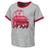 Image for Utah Utes Athletic Logo Monster Truck Toddler Tee