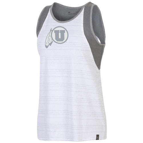 Cover Image For Utah Utes Under Armour Women's Cut Out Tank