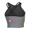 Image for Utah Utes Athletic Logo Under Armour Bralette