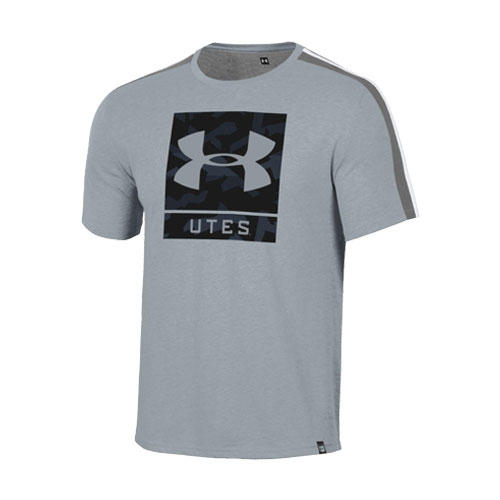 Image For Utah Utes Under Armour Logo Youth T-Shirt