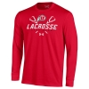 Image for Utah Utes Under Armour Long Sleeve Lacrosse Tee