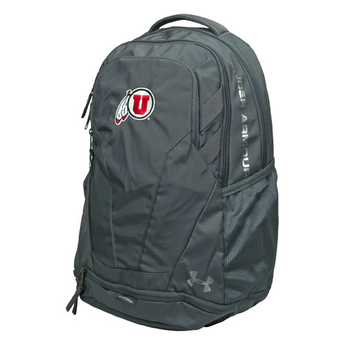 Image For Under Armour Athletic Logo Grey Backpack