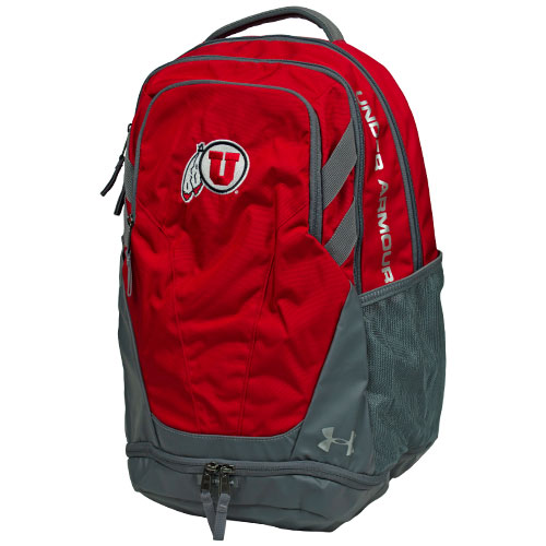 Image For Under Armour Athletic Logo Red Backpack