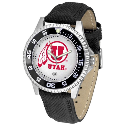 Image For Utah Utes Athletic Logo Competitor Watch