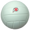 Image for Utah Utes Athletic Logo Volleyball