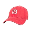 Image for Utah Utes Interlocking U Distressed Adjustable Womens Hat