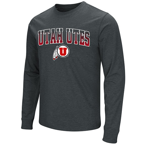 Image For Colosseum Utah Utes Athletic Logo T-shirt