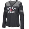 Image for Colosseum Utah Utes Women's Long Sleeve T-shirt