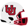 Image for Utah Utes Interlocking U Helmet Hitch Cover
