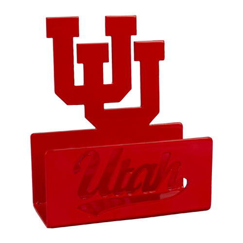 Image For Utah Utes Interlocking U Business Card Holder