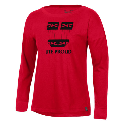 Cover Image For Under Armour Ute Proud Womens Long Sleeve Tee