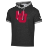 Image for Utah Utes Interlocking U Under Armour Short Sleeve Hoodie