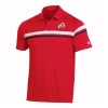 Image for Utah Utes Under Armour Sideline Striped Polo Shirt