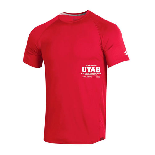 Cover Image For Utah Utes Under Armour 2019 Sideline T-Shirt