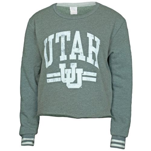 b4edd02a Image For Utah Utes Cropped Crew Sweatshirt