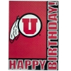 Image for Utah Utes Happy Birthday Greeting Card
