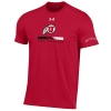 Image for Utah Utes Under Armour Lacrosse Athletic Logo Tee