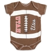 Image for Utah Utes Athletic Logo Football Onesie