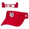 Image for Utah Utes Interlocking U Red Visor