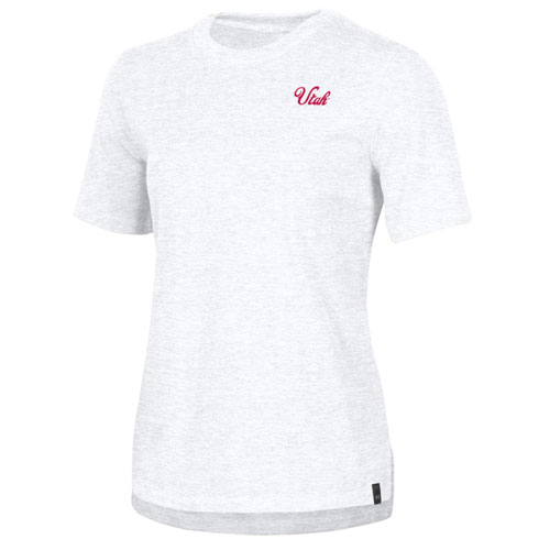 Image For Under Armour Utah Utes Script Womens Tee