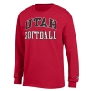 Image for Utah Utes Softball Long Sleeve Tee