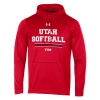 Utah Utes Softball Under Armour Hoodie Image