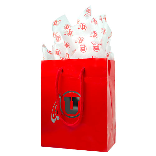 Image For Utah Utes Athletic Logo Tissue Paper